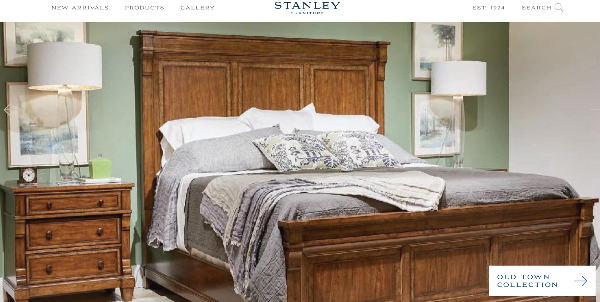 Stanley Furniture temporarily suspends U.S. operations