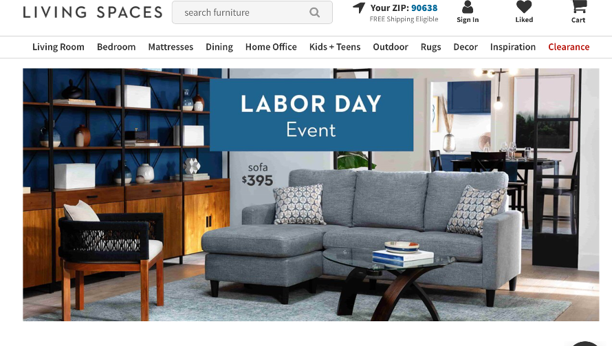 Furniture retailers go long with Labor Day promotions