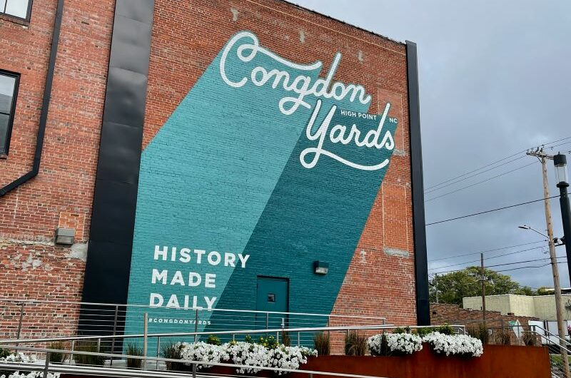 Former furniture showroom complex at 400 West English gets new life as Congdon Yards
