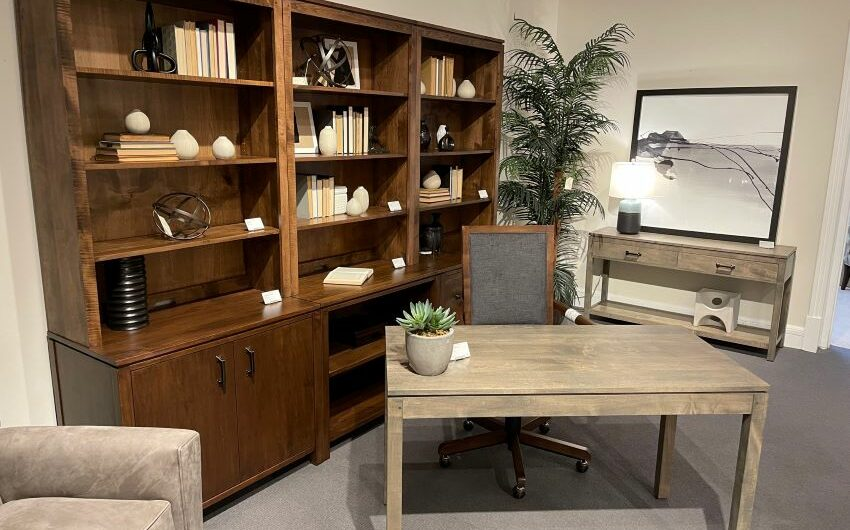 Stickley Furniture Origins by Stickley collection adds more than 90 pieces in solid maple